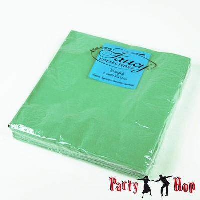 Papierservietten grün 25 Stück