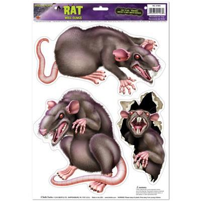 Deko-Haftbilder Fiese Ratten