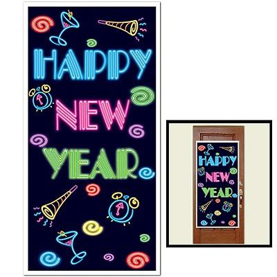 Türposter Happy New Year