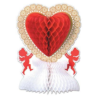 Tischdeko Herz Engel