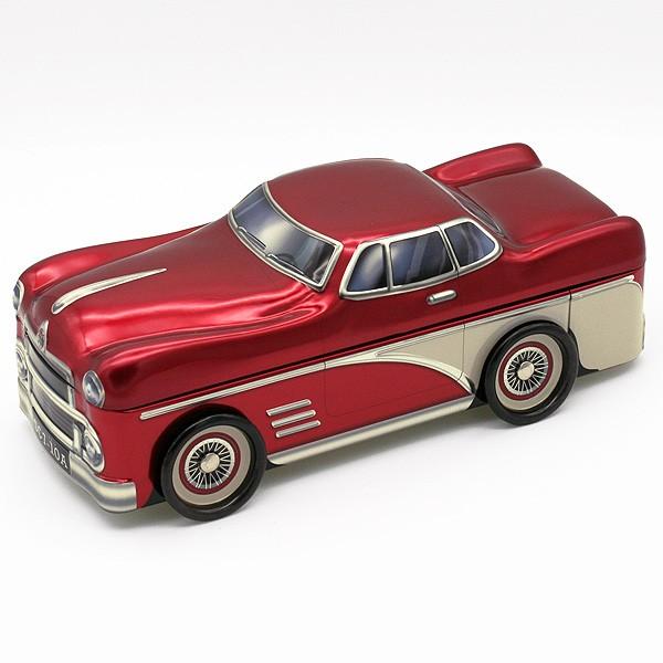 Dekoblechdose 50er Jahre Auto rot