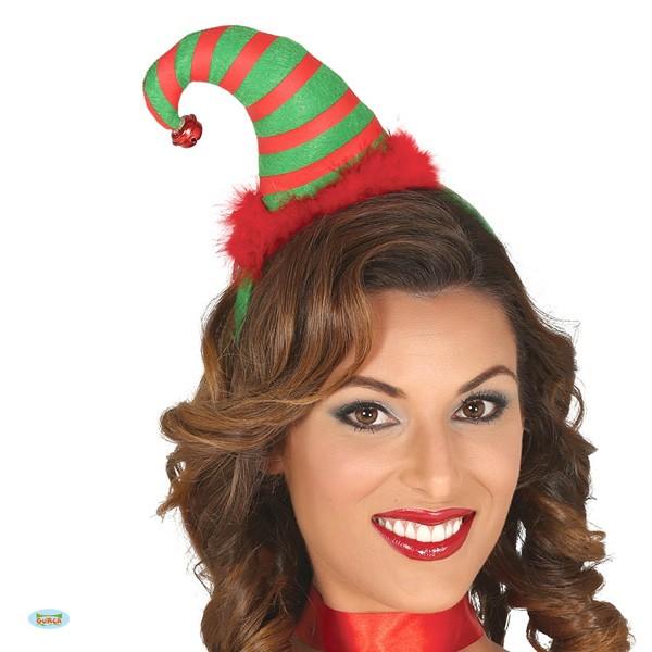Weihnachtshaarreif Wichtelmütze