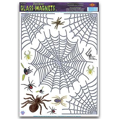 Haftbilder Spinnweben Spinnen