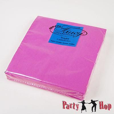 Servietten pink fuchsia 25 Stück