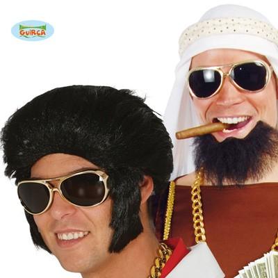 Partybrille 70er King Scheich