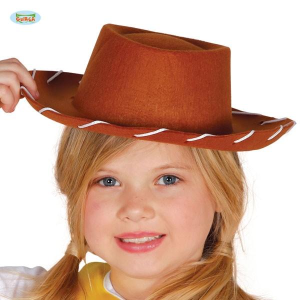 Cowboyhut braun Kinder