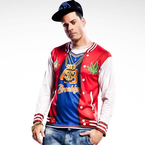 3D Fun-Shirt Rapper L