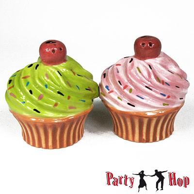 Salz- und Pfefferstreuer Cupcakes