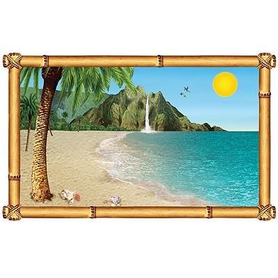 Wanddeko Tropischer Strand