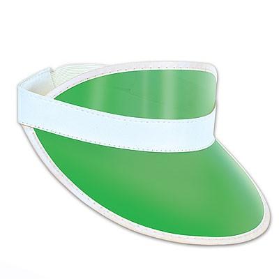 Casino Dealer Croupier Schirmkappe grün