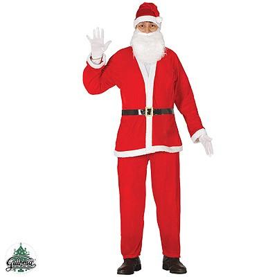 Weihnachtsmann Nikolaus Anzug L