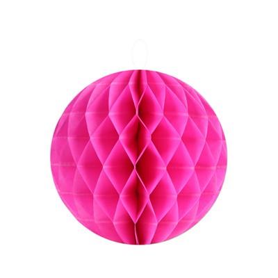 Partydeko Wabenbälle S pink - 2 Stück