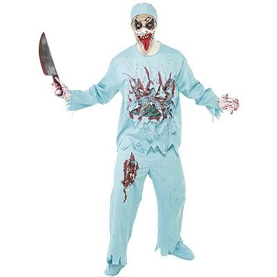 Zombie Arzt Doktor Kostum M Halloween Karneval Mottoparty