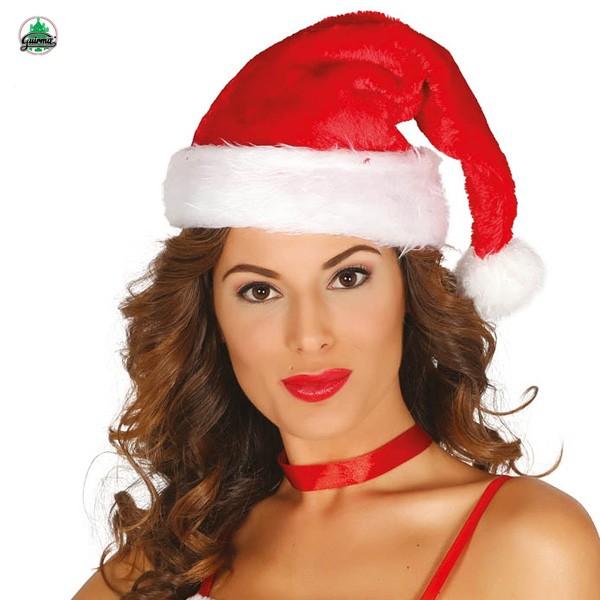 Weihnachtsmannmütze Plüsch I