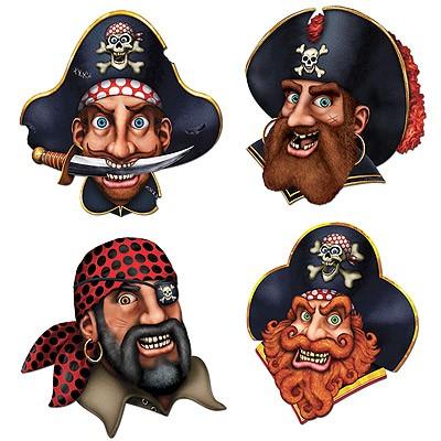 Partydeko Piraten Crew