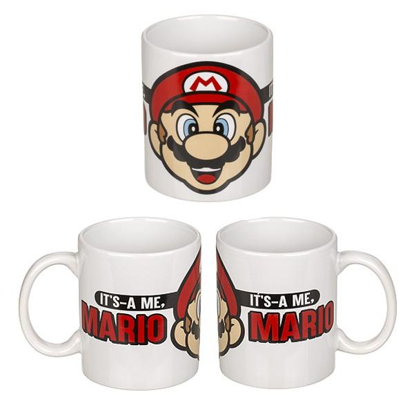 Kaffeetasse Super Mario Ausruf