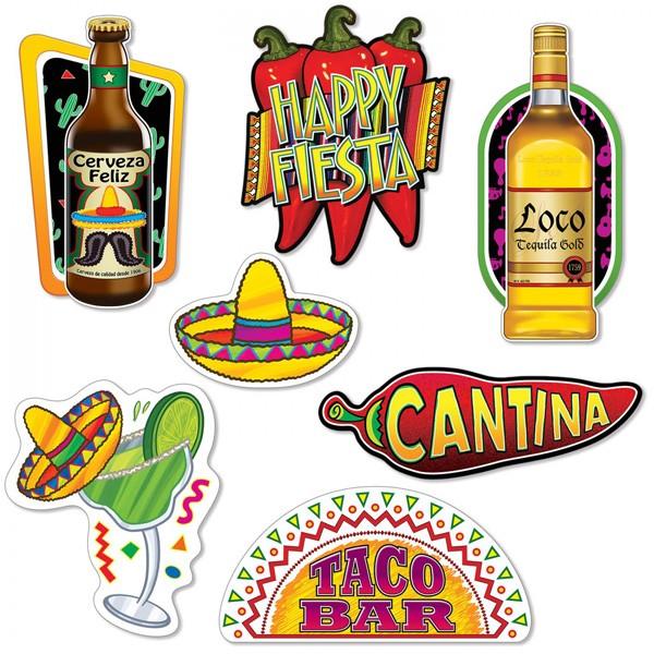 Deko-Motive Mexiko Fiesta
