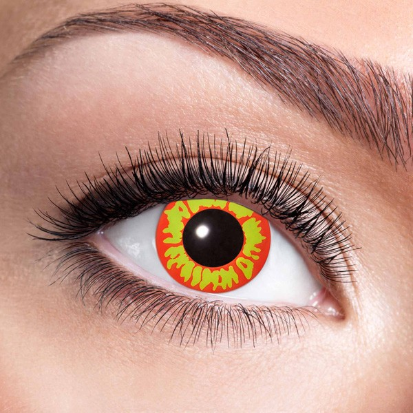 Farbige Kontaktlinsen ohne Stärke Ork