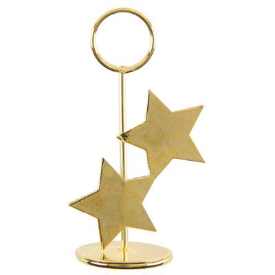kartenhalter golden stars f r namensk rtchen tischkarten. Black Bedroom Furniture Sets. Home Design Ideas