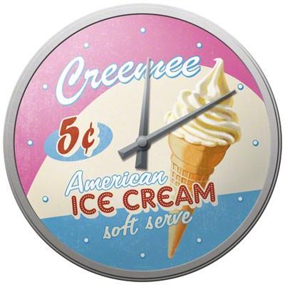 Wanduhr American Ice Cream