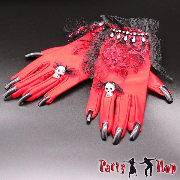 Handschuhe Teufelin