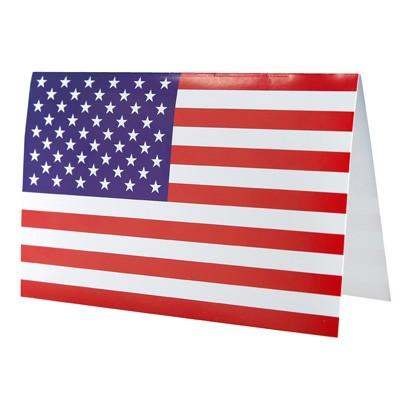 Karten USA Flagge zum Beschriften