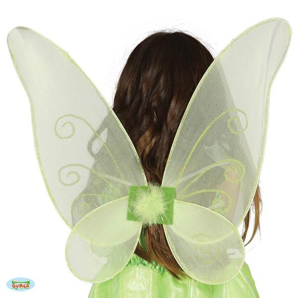 Grüne Feenflügel Schmetterlingsflügel