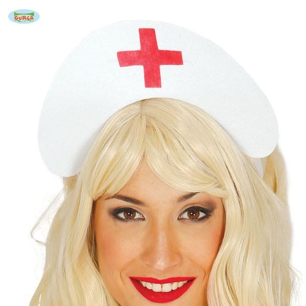 Krankenschwester Häubchen zum Binden