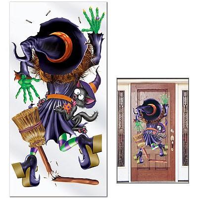 Türposter bruchgelandete Hexe