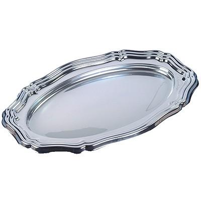 Servierplatten silber oval