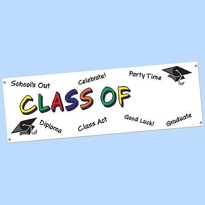 Banner Class Of ...
