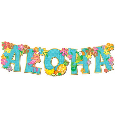 Partydeko Girlande Aloha