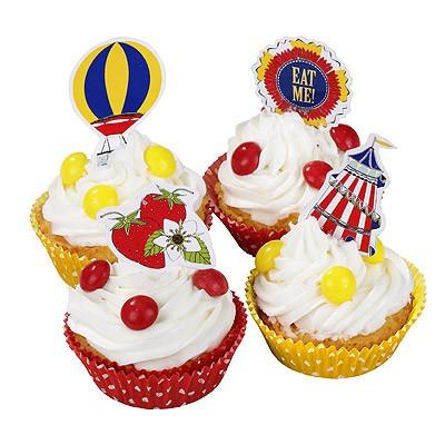 Cup Cake und Muffin Set Jahrmarkt