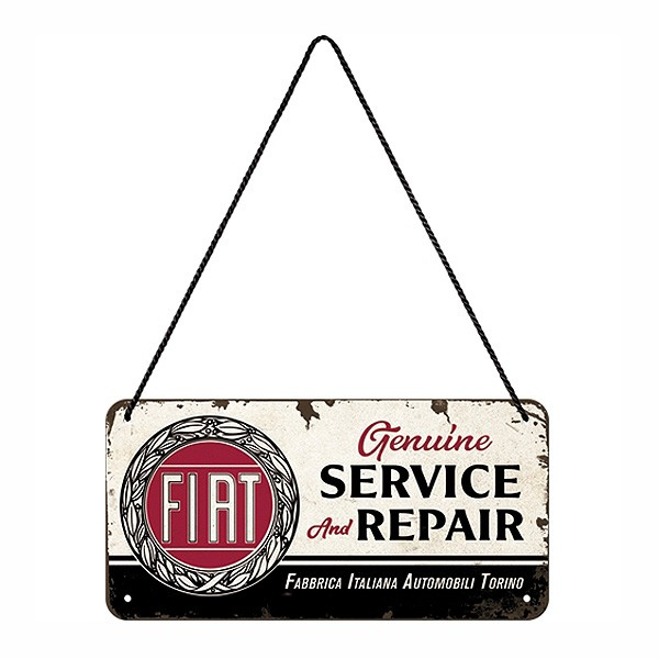 Hängeschild Fiat Service and Repair