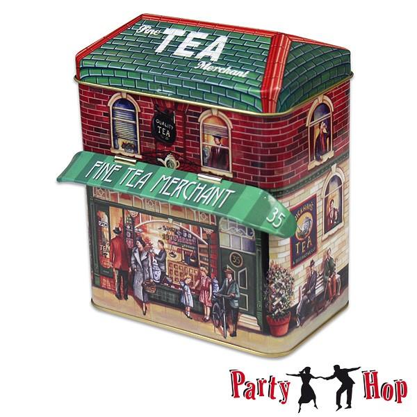 Retro-Blechdose Fine Tea Merchant