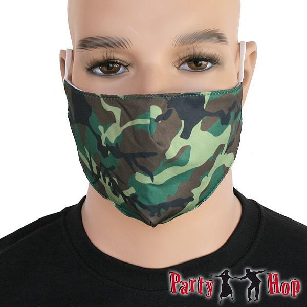 Mund-Nasen-Maske Tarnmuster