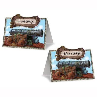 Platzkarten Piraten Kanone