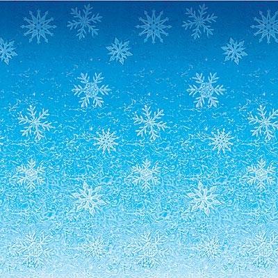 Wandverkleidung Eisblumen Schneeflocken