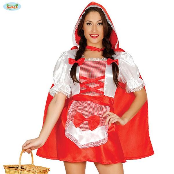 Detail Kostüm Rotkäppchen M-L