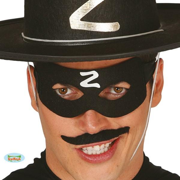 Maske Zorro Bandit schwarz Z