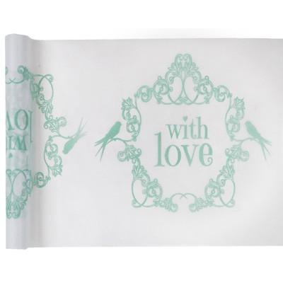 Tischläufer With Love mint
