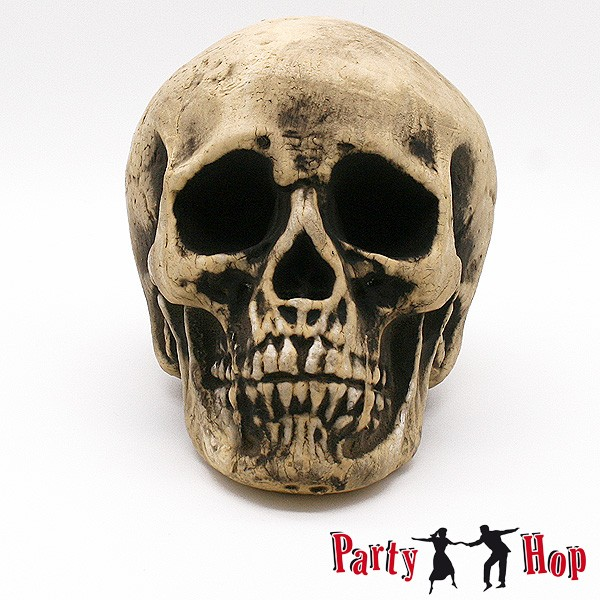Totenkopf Halloweendeko 20cm