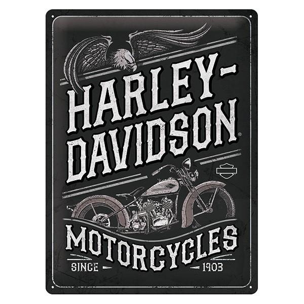 Blechschild Harley Davidson Motorcycles 30x40