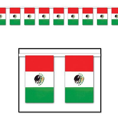 Riesen-Flaggengirlande Mexiko