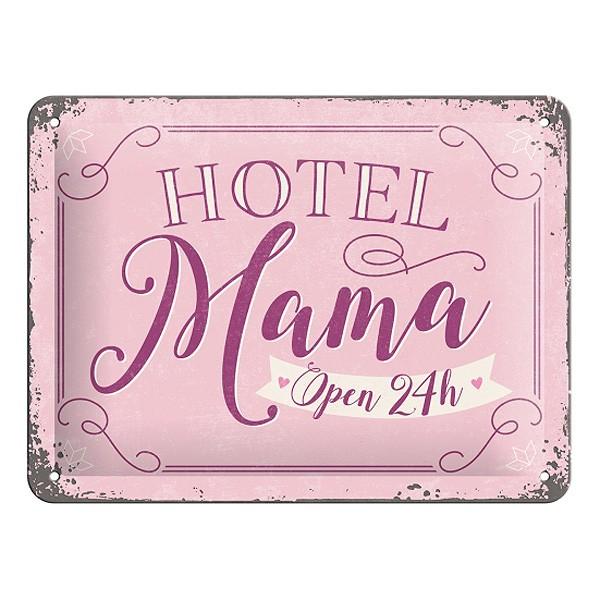 Blechschild Hotel Mama