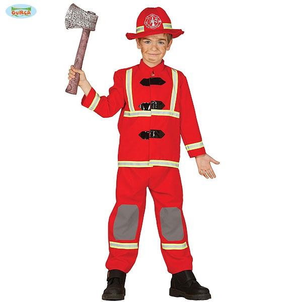 Kinder Kostüm Feuerwehrmann