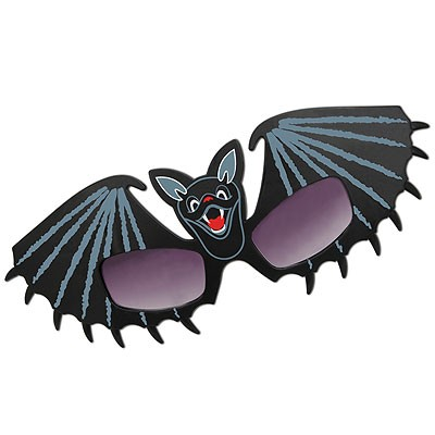 Partybrille Fledermaus