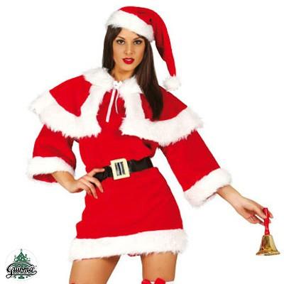 Weihnachtsfrau Kostüm M