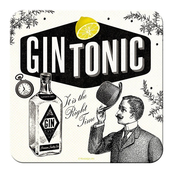 Untersetzer Gin Tonic