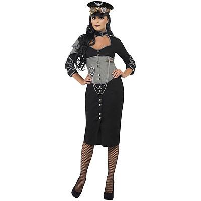 Steampunk Uniformkleid S
